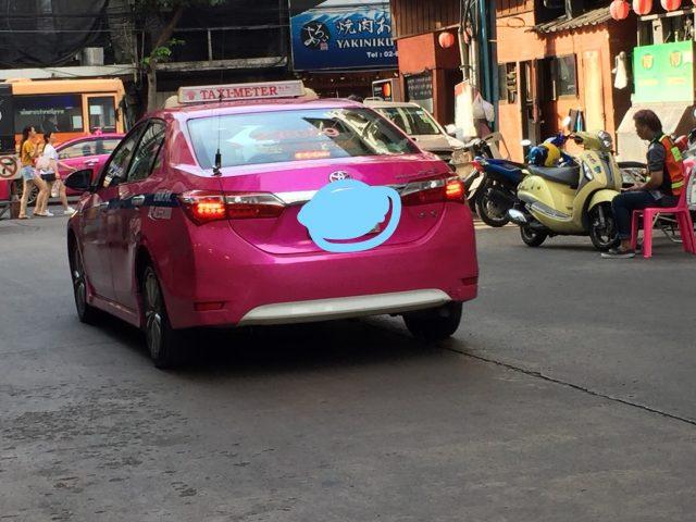 注意@タイの悪質なタクシーに気を付けて!僕なりのタクシーの見極め方