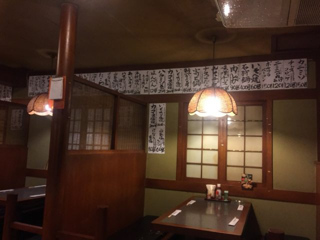 皆さんご存知タニヤ通の老舗居酒屋@酒の店は昭和レトロで雰囲気抜!